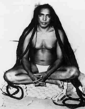 Yoga Guru Sri Tat Wale Baba, last known photo.
